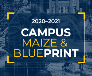 Campus Maize and Blueprint website button